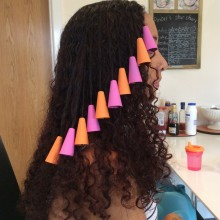 Steph using Color Cones